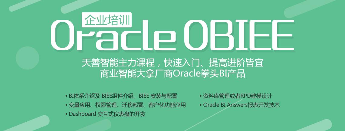 Oracle OBIEE 培训