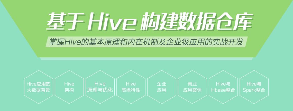 基于Hive构建数据仓库 内训课程